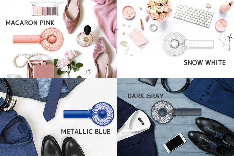 MACARON PINK / SNOW WHITE / METALIC BLUE / DARK GRAY