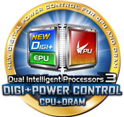 Dual Intelligent Processors 3 with New DIGI+ Power Control Image
