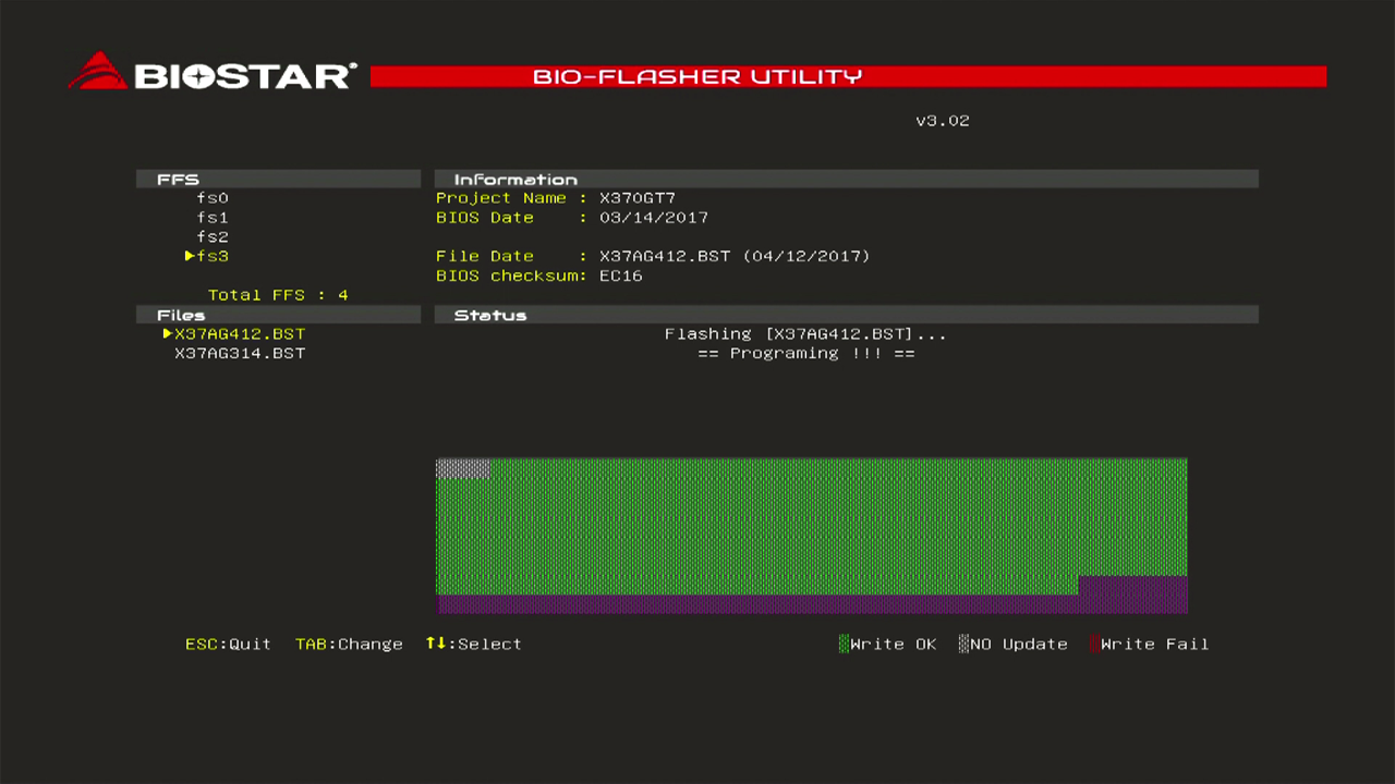 BIOSTARマザーボード BIOS更新方法|BIOSTAR|株式会社aiuto PCパーツ