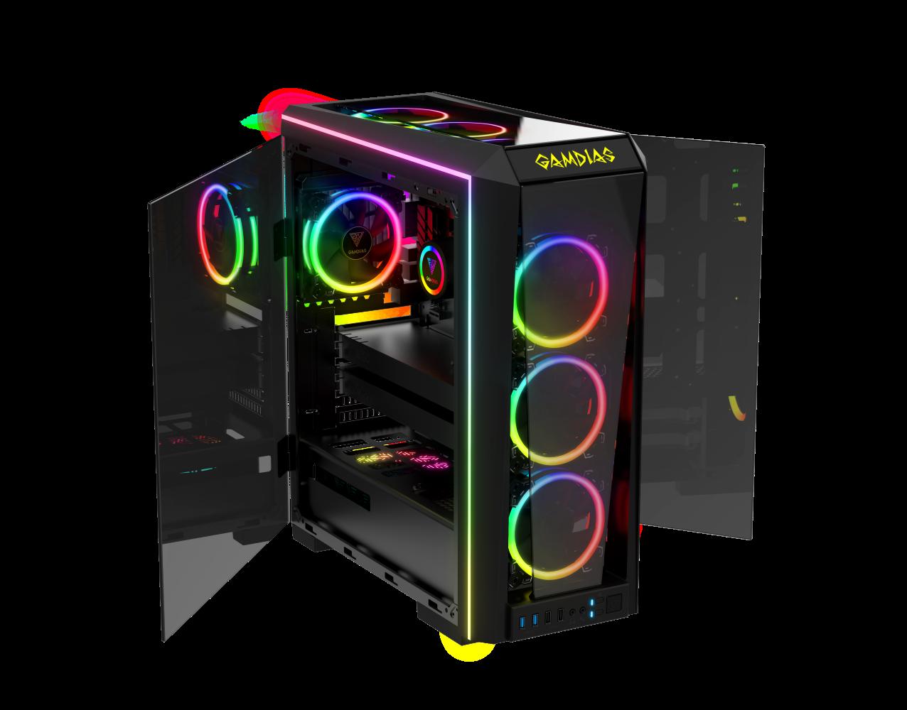 2247a395fe 台湾PCゲーム周辺機器メーカー「GAMDIAS」より、 ミドルタワーPCケース「